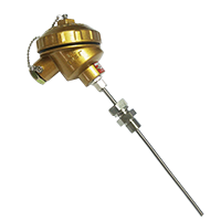 固定卡套螺紋裝置式鎧裝熱電偶